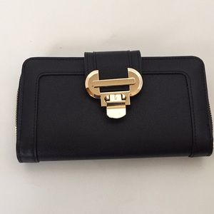 Handbags - Black & Gold wallet